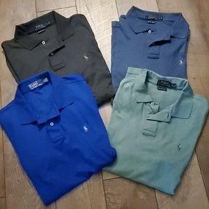 Set of 4 POLO RALPH LAUREN shirts